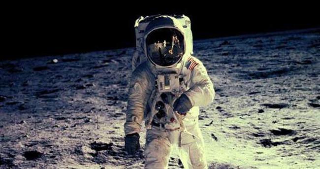 Astronotun kaskına su girince...