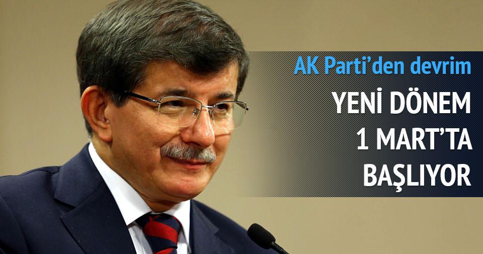 AK Parti 1 Mart'ta elektronik imzaya geçecek