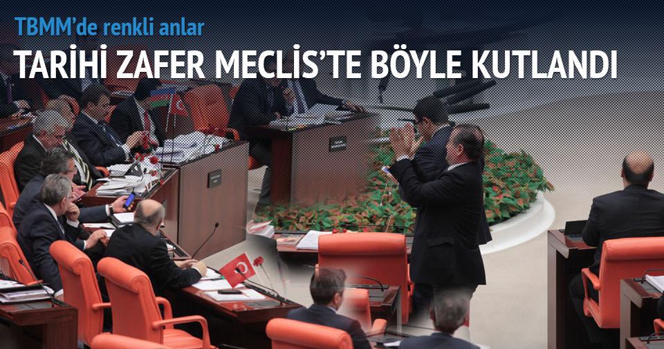 TBMM'de Beşiktaş sevinci