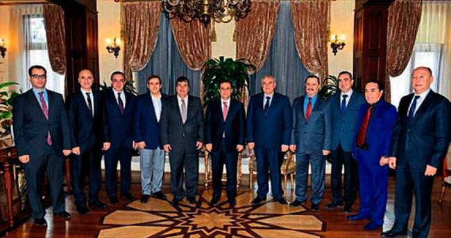 ATSO'nun yeni yönetimi Vali Türker'i ziyaret etti