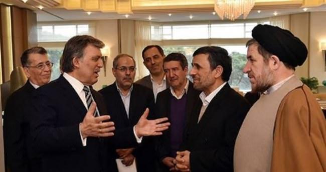 Ahmedinejad'dan Abdullah Gül'e ziyaret