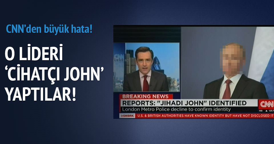 CNN Putin'i Cihatçı John yaptı!
