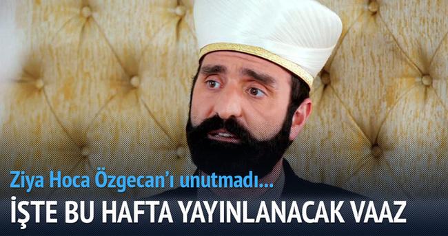 Ziya Hoca Özgecan'ı unutmadı