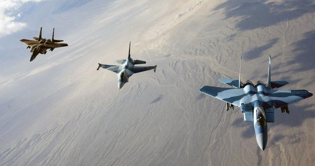 Helikopter yaklaştı! F-16'lar sınıra gönderildi