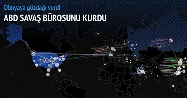 Amerika siber savaş bürosu kurdu