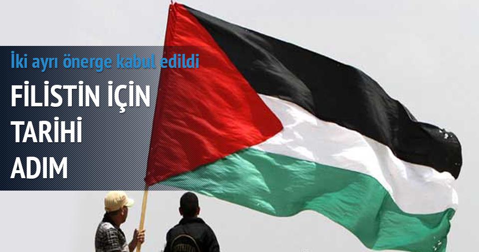 İtalya'dan Filistin'in için tarihi adım