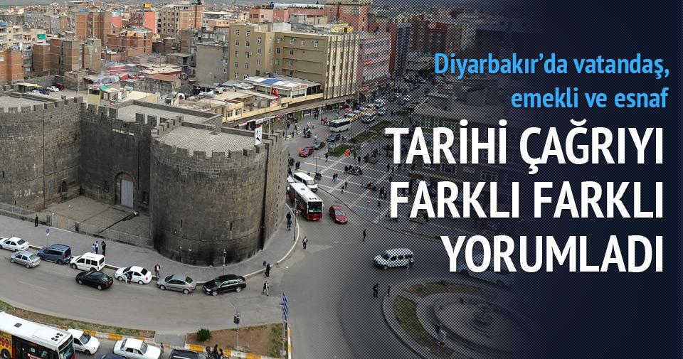 Diyarbakır'da 'silah bırakma' yorumları