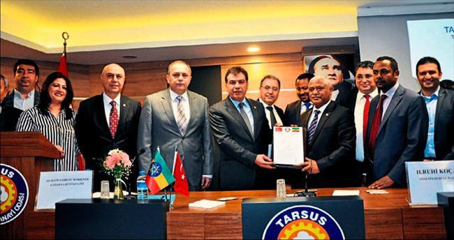 Tarsus TSO ile Etiyopya işbirliği için imza attı