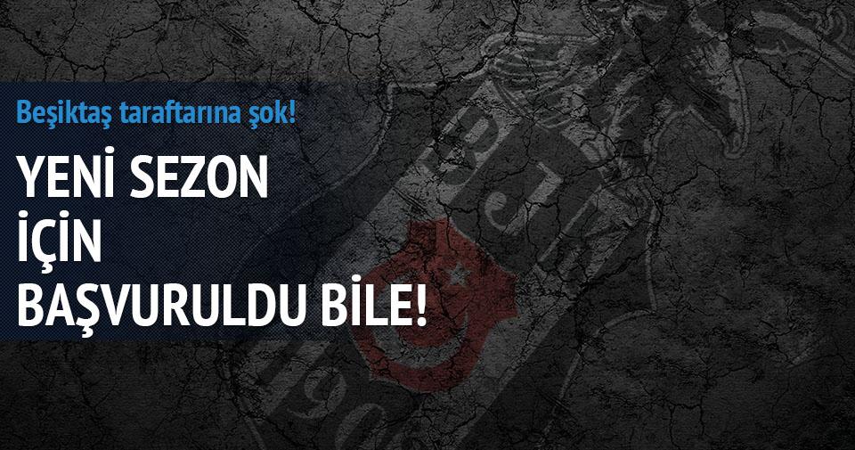 Beşiktaş Olimpiyat Stadı için başvuruda bulundu