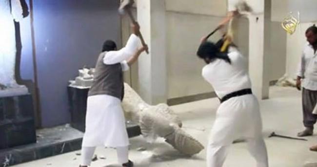 IŞİD'in yıktığı heykeller kopyaymış