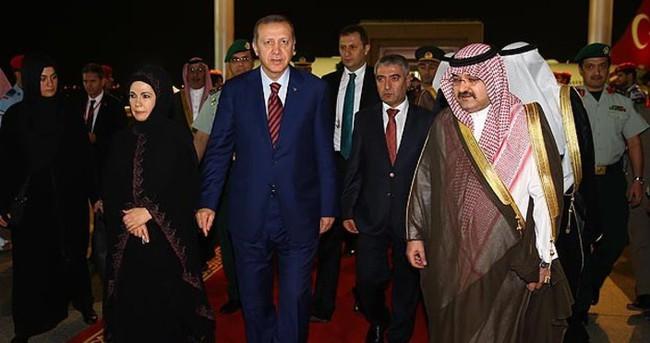 Cumhurbaşkanı Erdoğan, Medine'de