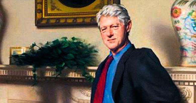 Clinton tablosunda Monica'nın gölgesi