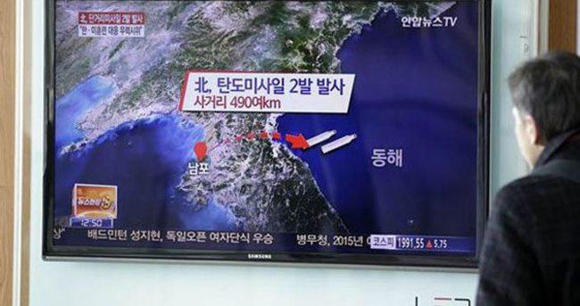 Kuzey Kore'den tepki füzesi!