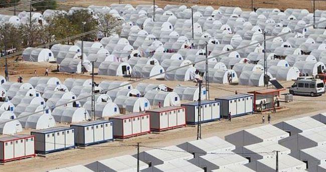 Çadır kentte yangın: 1 ölü