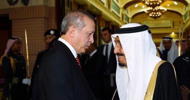 Cumhurbaşkanı Erdoğan, Suudi Arabistan'dan ayrıldı