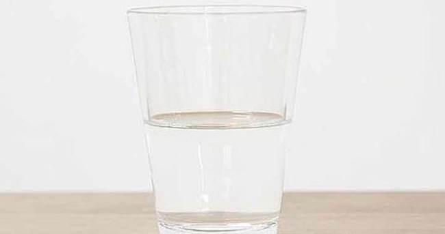 Yarım bardak suya 20 bin euro