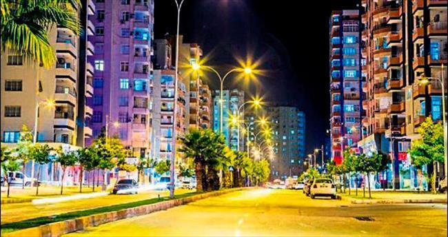 Şebeke değişti Adana ışıl ışıl