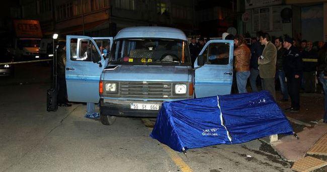 Aracının içinde infaz edildi!