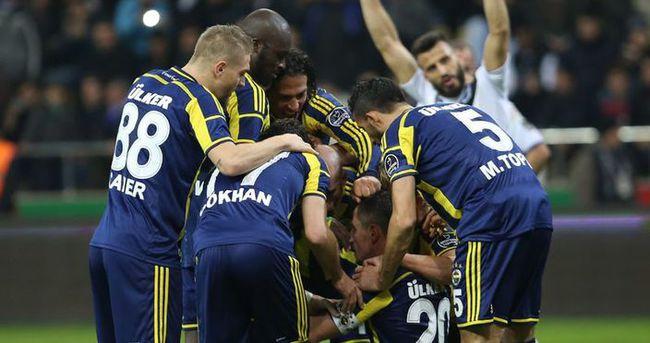 Fenerbahçe avantaj peşinde