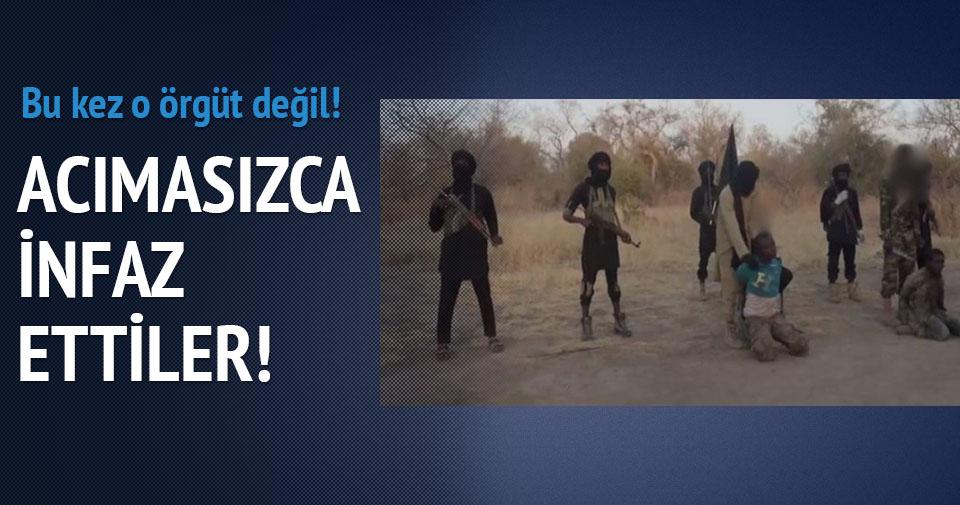 Boko Haram iki kişiyi infaz etti