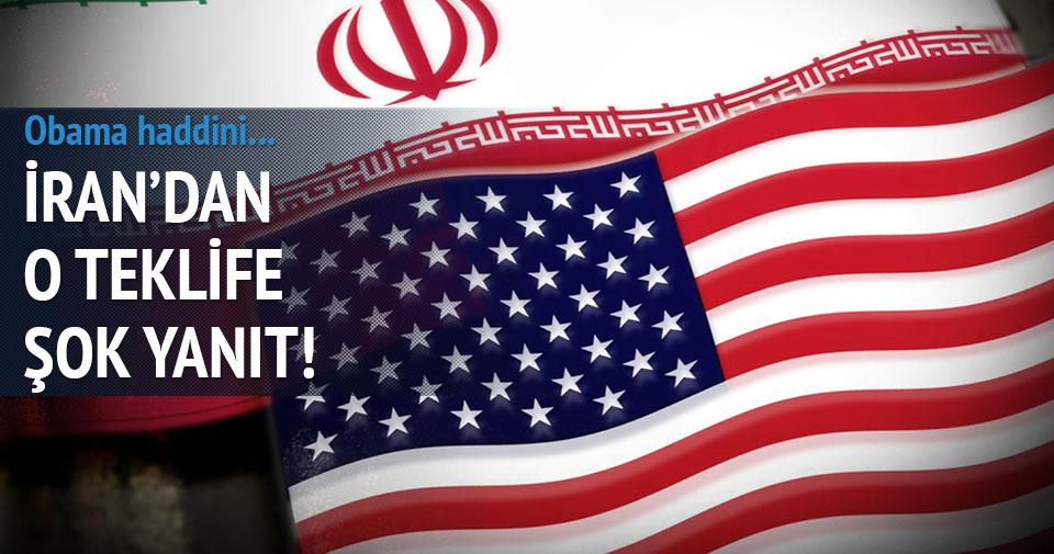 İran'dan Obama'ya sert yanıt
