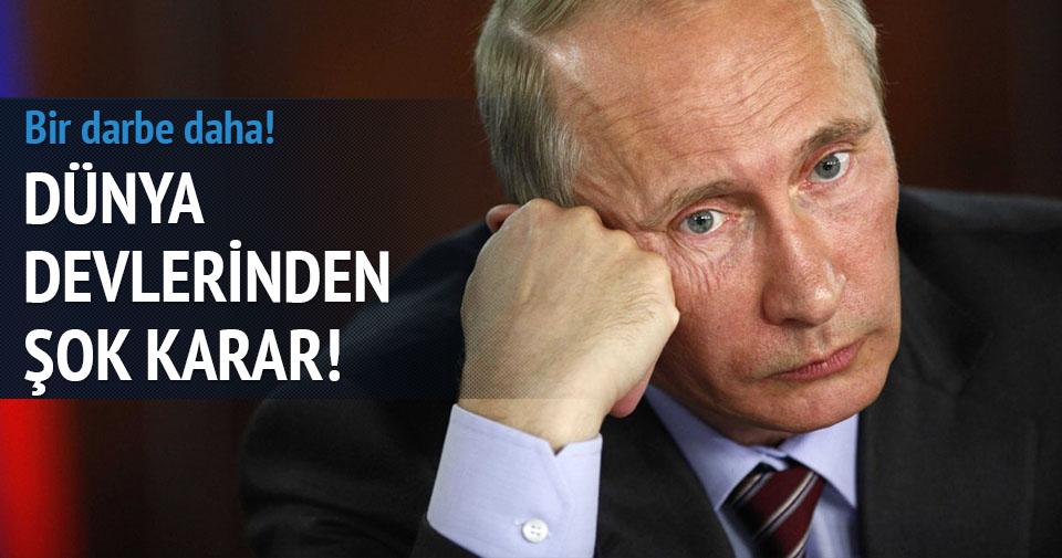 Dünya devleri Rusya'dan çekiliyor