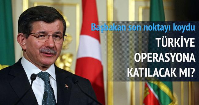 Davutoğlu'ndan Musul'a operasyonu açıklaması