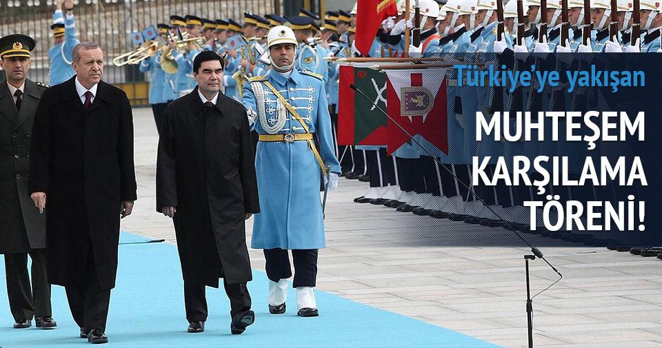 Cumhurbaşkanı Erdoğan böyle karşıladı
