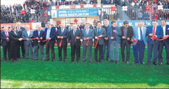 Sarıgazi Stadı yenilendi