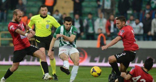 Bursaspor'da karşılıklı goller