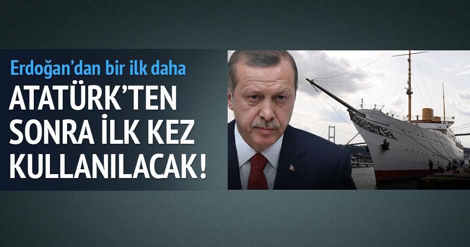 Atatürk'ün yatında bir ilk