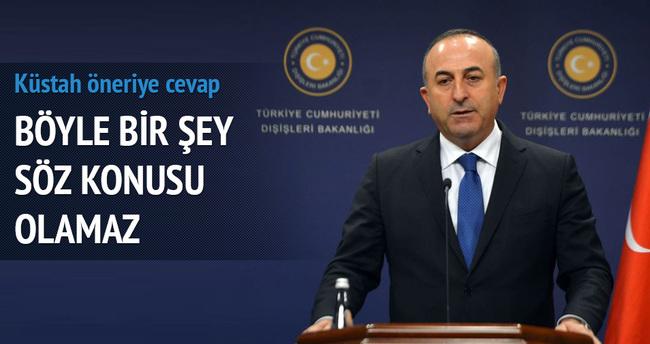Çavuşoğlu'ndan İngiliz polisi açıklaması