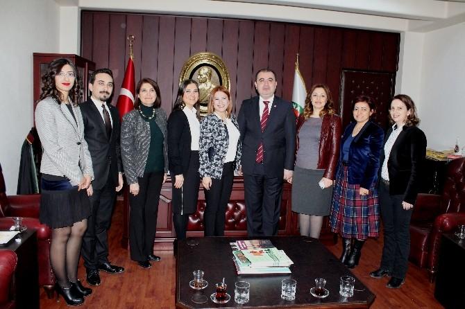 Adana Arabulucular Derneği'nden Baroya Ziyaret