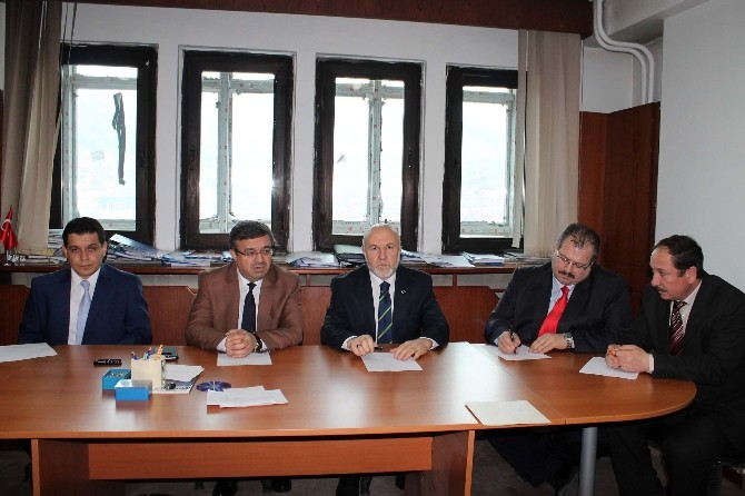 Başkan Yurdunuseven'den Afyonkarahisar İGM'ye Ziyaret