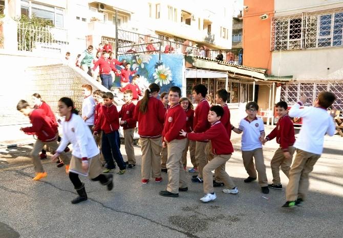 Bandırma'da Öğrencilerin Tatbikat Heyecanı
