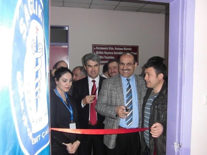 Sağlık-sen Bayburt Şube İşyeri Temsilci Odası Açıldı