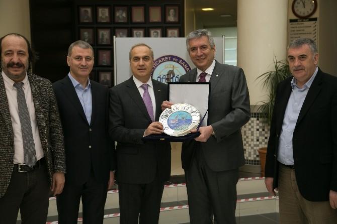 İstanbul Sanayi Odasından Satso'ya Ziyaret