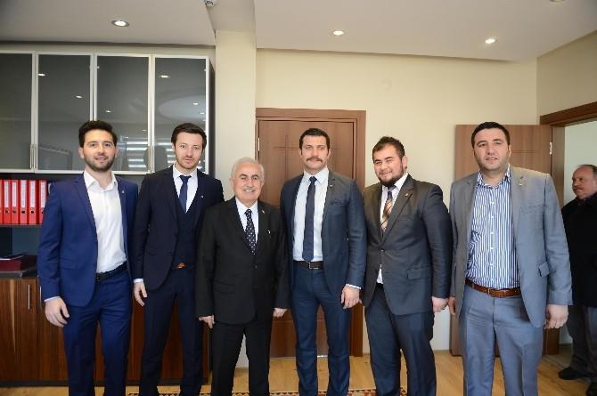 Edirneli Genç Girişimcilerden Vali Şahin'e Ziyaret