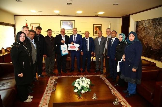 Bursalı Muhtarlardan Başkan Zolan'a Ziyaret