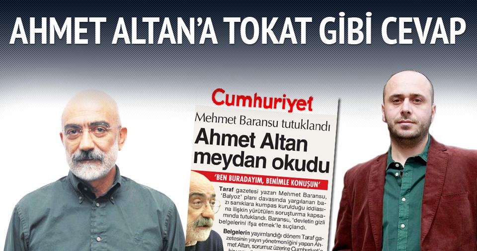 'Ahmet Altan kariyerini Kemalist Cumhuriyet'te noktaladı'