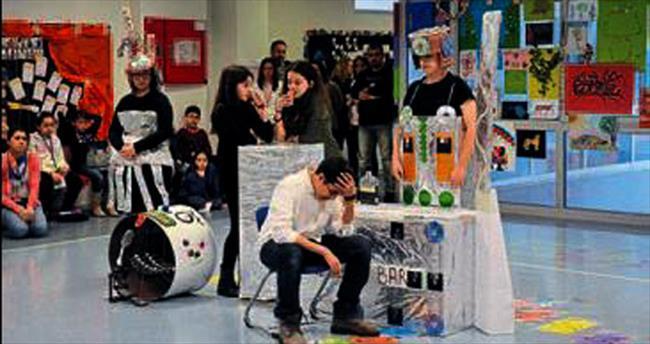 Bahçeşehir'de 398 genç beyin yarıştı
