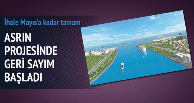 Kanal İstanbul ihalesi mayısa kadar tamam