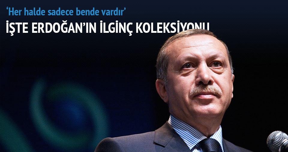 Cumhurbaşkanı Erdoğan'ın ilginç koleksiyonu