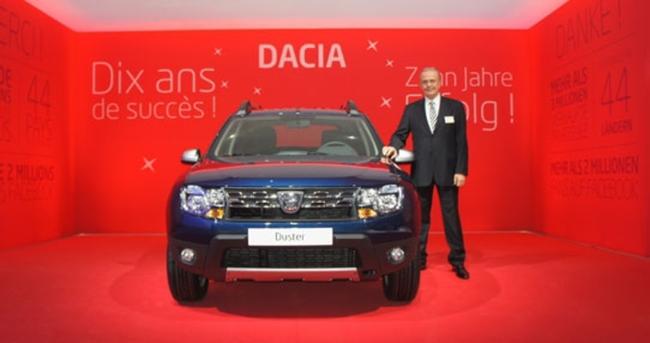 Dacia 10 yıla özel seri yaptı