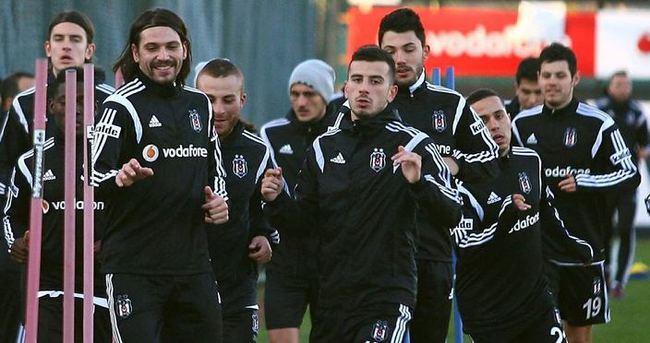 Beşiktaş'ta Sivasspor maçı hazırlığı