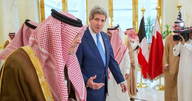 John Kerry Riyad'da