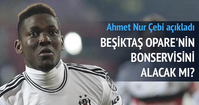 Beşiktaş'tan Opare açıklaması