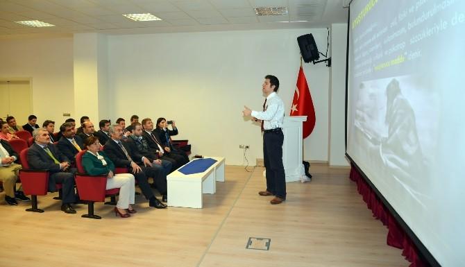 Adana BTÜ'de Madde Bağımlılığı Ve Yasal Boyutları Semineri