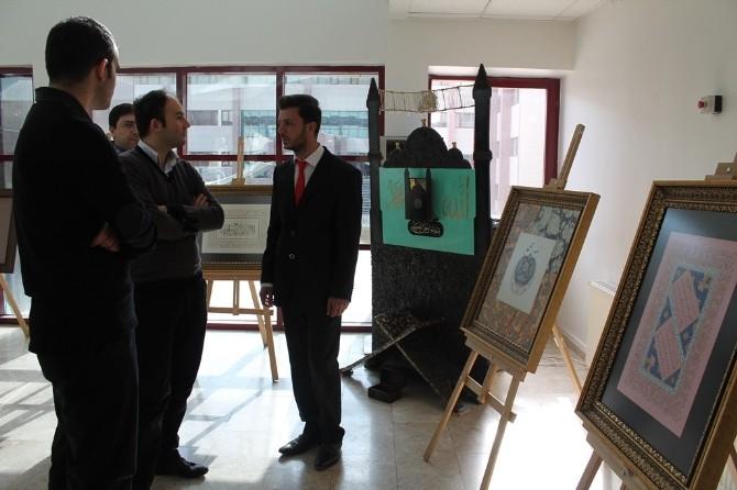 Bayburt Üniversitesi Sansu'nun Sergisine Ev Sahipliği Yaptı