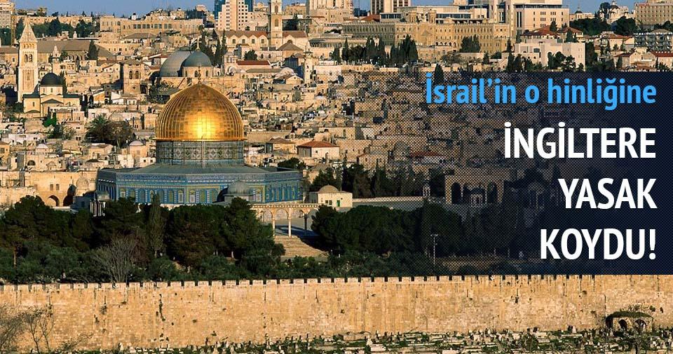 İsrail'in broşür oyunu İngiltere'de tutmadı